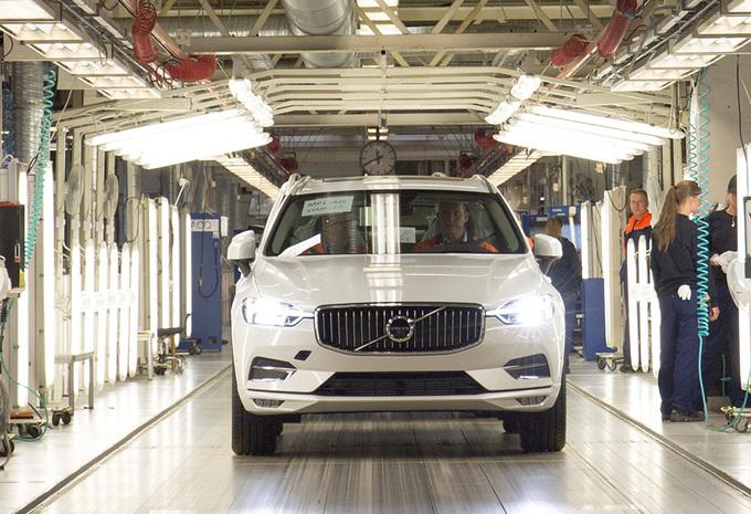 Productie nieuwe Volvo XC60 opgestart in Zweden #1