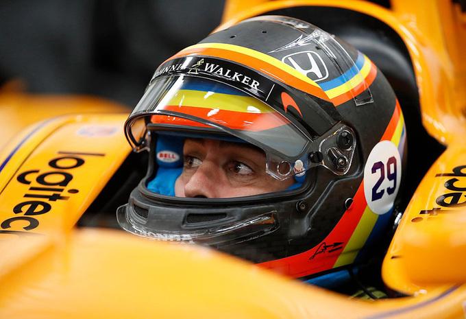 Alonso is klaar voor de Indy 500 #1