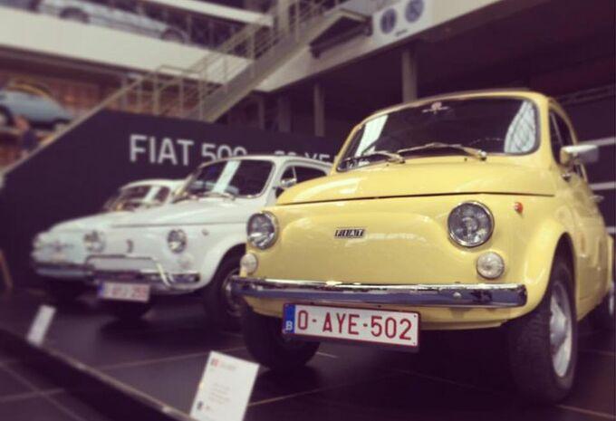 Autoworld célèbre la Fiat 500 #1
