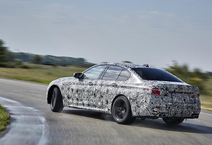 Officieel: nieuwe BMW M5 heeft RWD én xDrive #5