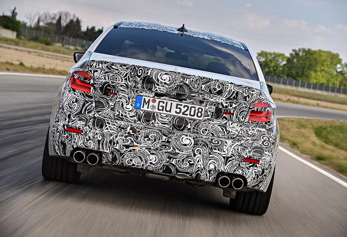 Officieel: nieuwe BMW M5 heeft RWD én xDrive #4