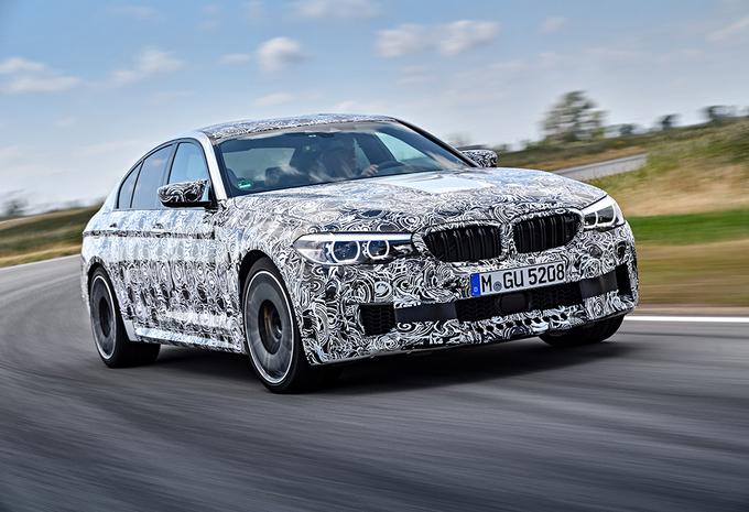 Officieel: nieuwe BMW M5 heeft RWD én xDrive #3