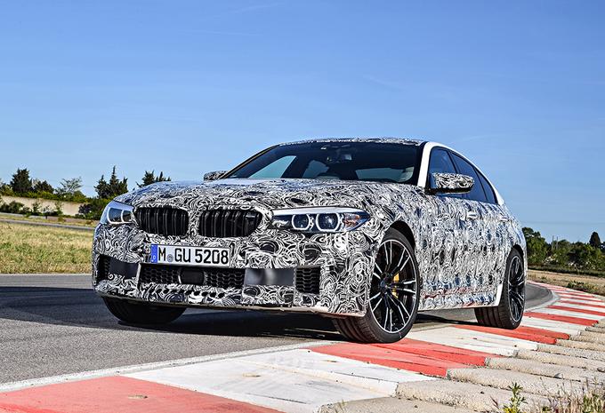 Officieel: nieuwe BMW M5 heeft RWD én xDrive #8