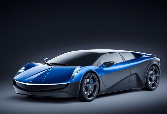Elextra, een nieuwe rivaal voor Tesla Model S en Porsche Mission E #1