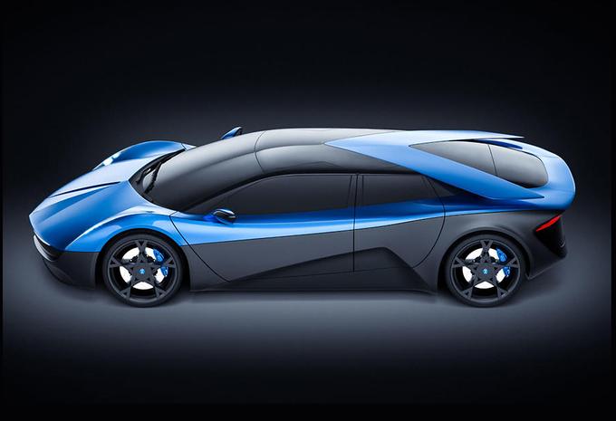 Een elektrische Lamborghini met plaats voor vier ?! #1