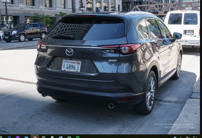 Mazda CX-8 : surpris sans camouflage à Chicago !  #1