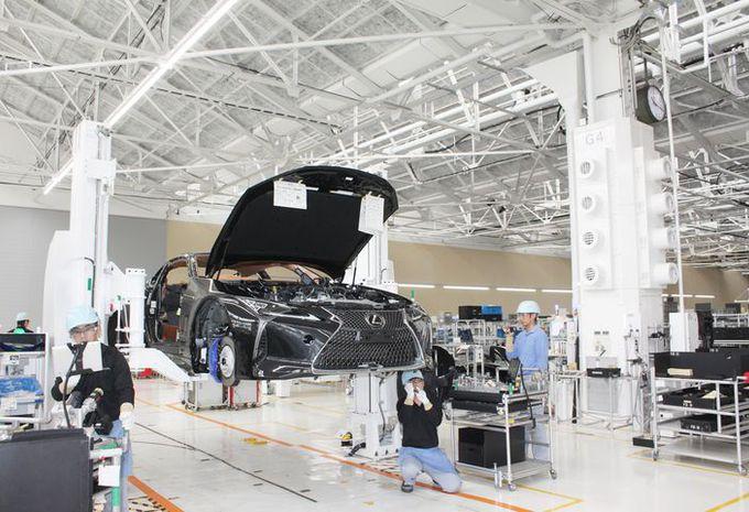 Lexus LC : début de la production  #1