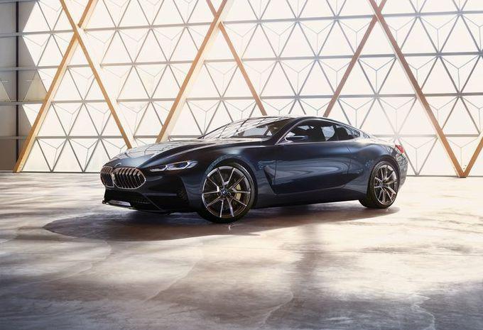 BMW 8-Reeks Concept: de stijl #1