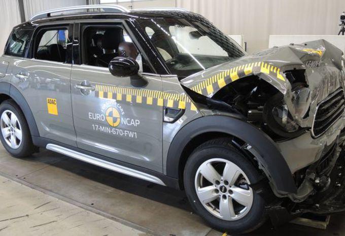 Mini Countryman (2017) : 5 étoiles Euro NCAP