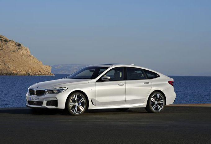 BMW Série 6 GT : changement de chiffre #1