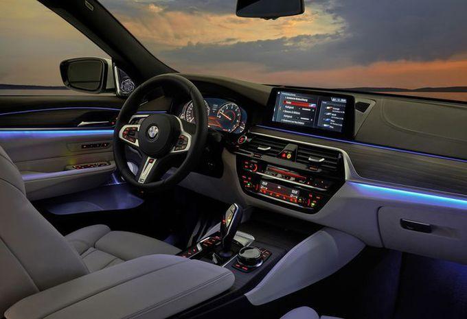 BMW Série 6 GT : changement de chiffre #10