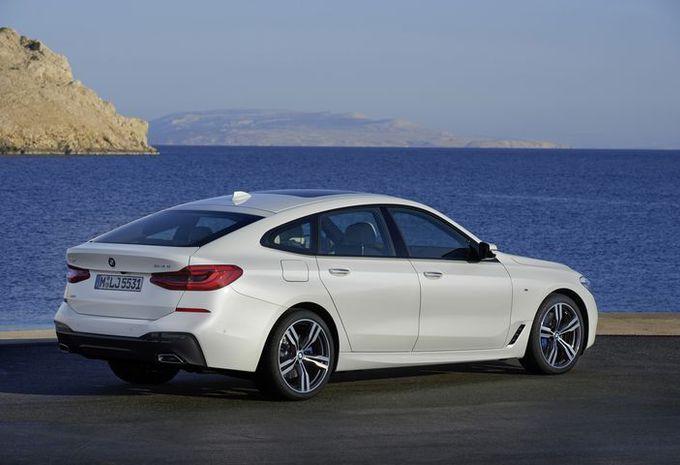 BMW Série 6 GT : changement de chiffre #2