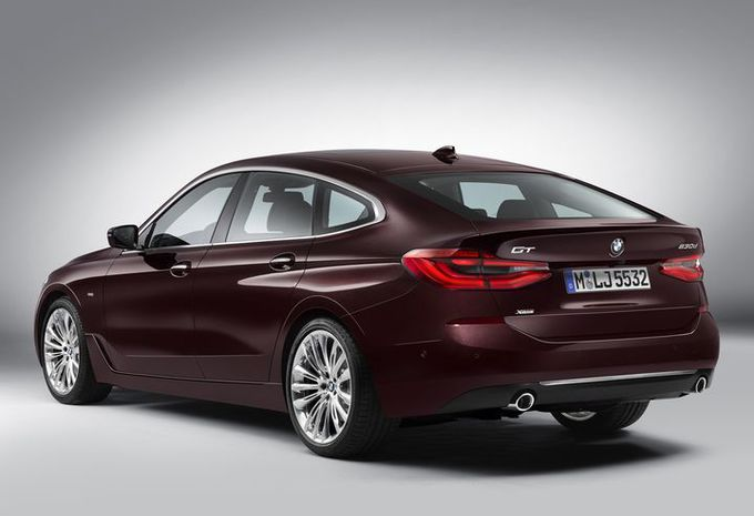 BMW Série 6 GT : changement de chiffre #4