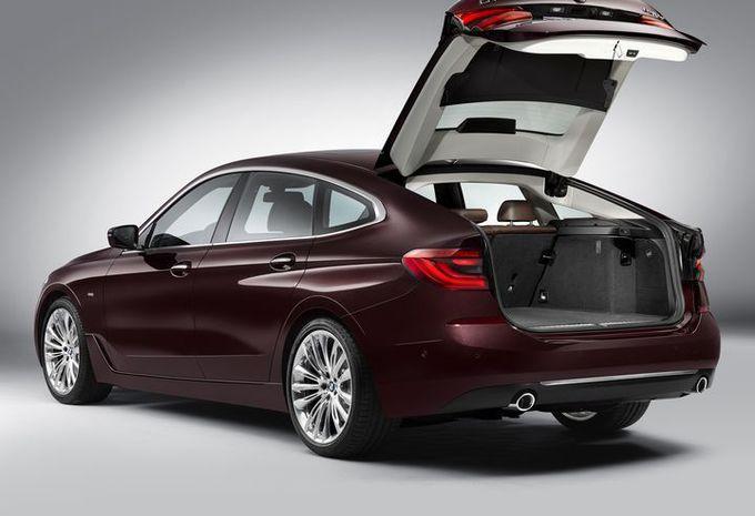 BMW Série 6 GT : changement de chiffre #5