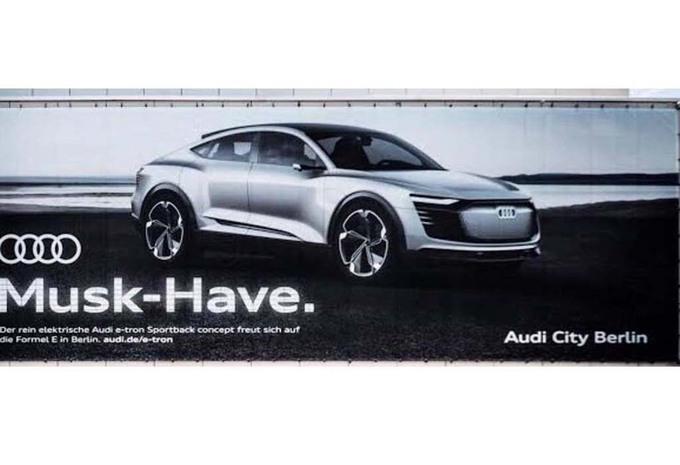 Audi tacle Elon Musk de Tesla #1