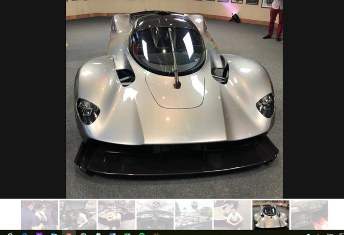 Aston Martin Valkyrie : 1130 ch ? #1