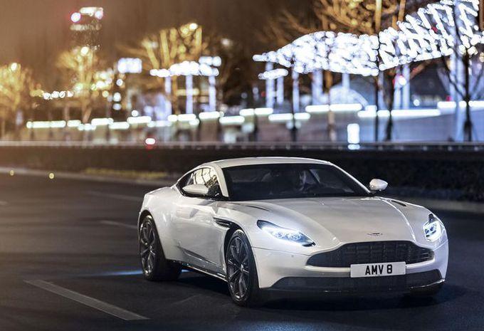 Aston Martin DB11 : voici le V8 #1