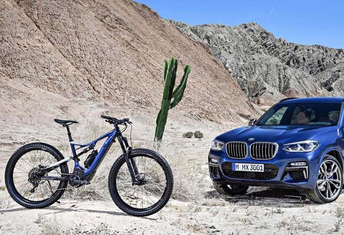 BMW : le nouvel X3 a droit à un VTT Specialized   #1