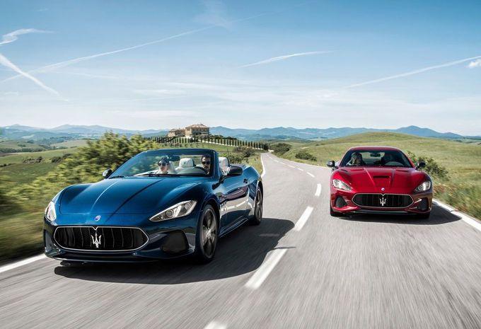 Maserati GranTurismo et GranCabrio : charisme rehaussé !  #1