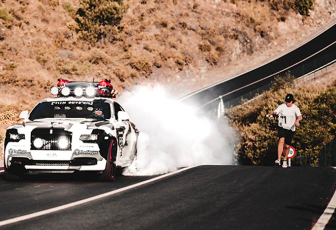 George : la Rolls-Royce Wraith de Jon Olsson #1