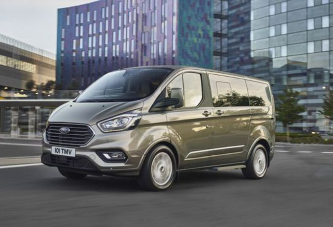 Ford Tourneo Custom : adaptations pour 2018 #7