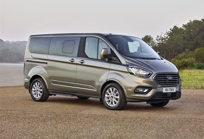 Facelift voor Ford Tourneo Custom