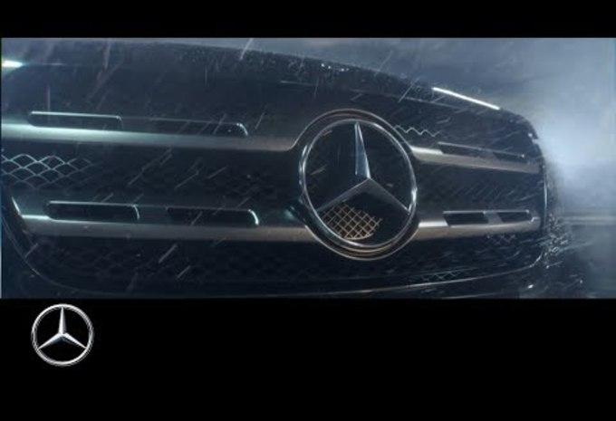 Vid o mercedes classe x le teaser du pick up - Nouveau pick up mercedes ...