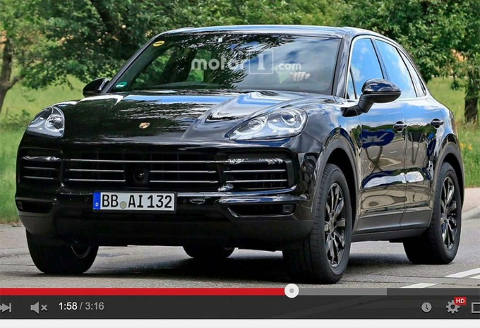 porsche cayenne 2018 toujours plus 911 moniteur automobile. Black Bedroom Furniture Sets. Home Design Ideas