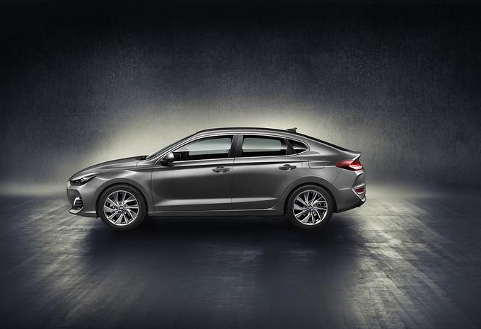 Hyundai i30 ook als sportievere Fastback #3