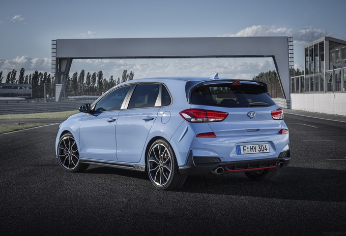 Hyundai i30 N krijgt blauworanje WRC-kleuren