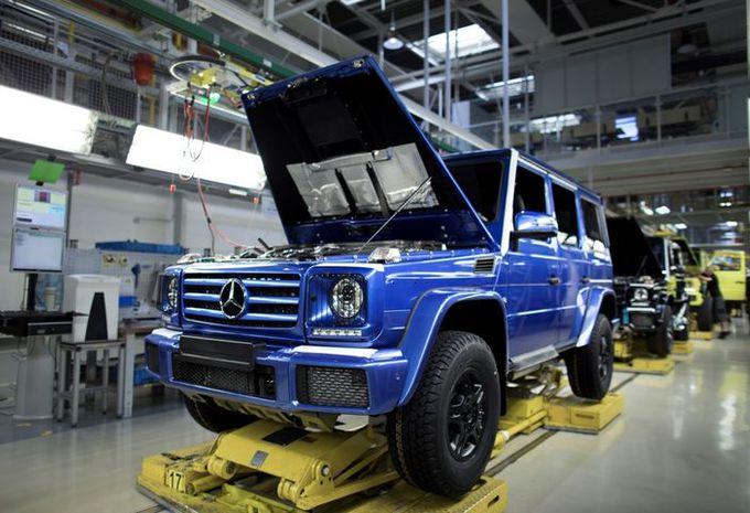 Mercedes Classe G : 300.000 exemplaires produits #1
