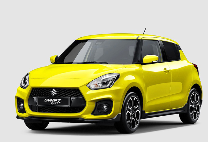 Nieuwe Suzuki Swift Sport krijgt turbo #1