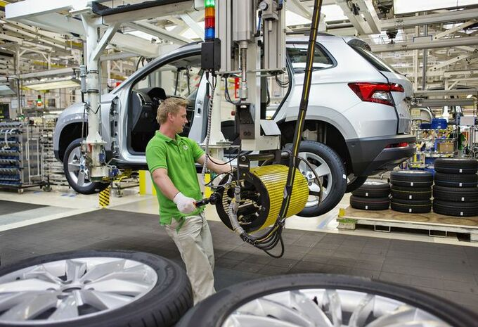 Škoda Karoq : la production commence #1