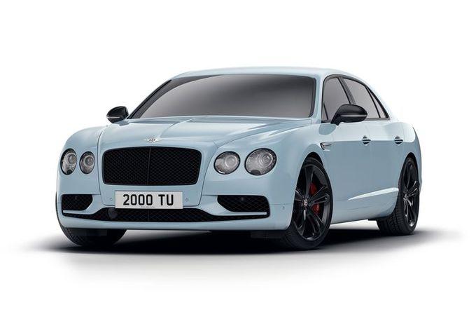 Bentley Flying Spur Black Edition : valet noir #1