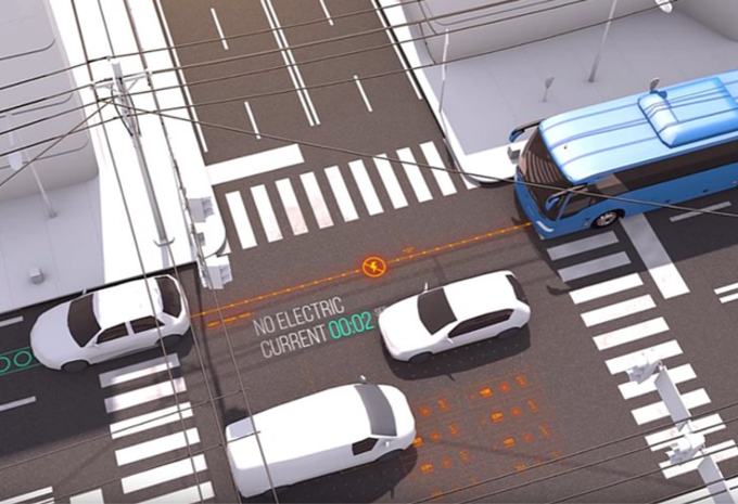Electroad : la route qui charge les voitures #1