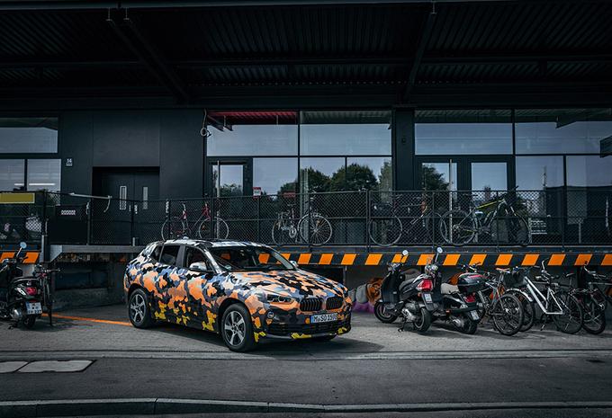 BMW X2 voor het eerst de straat op #1