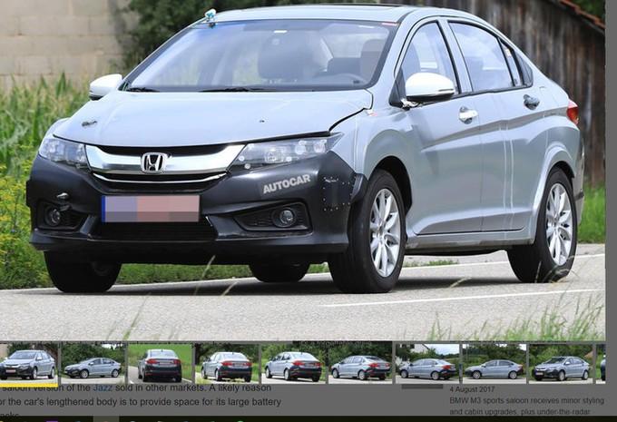 Honda : une nouvelle hybride se prépare #1