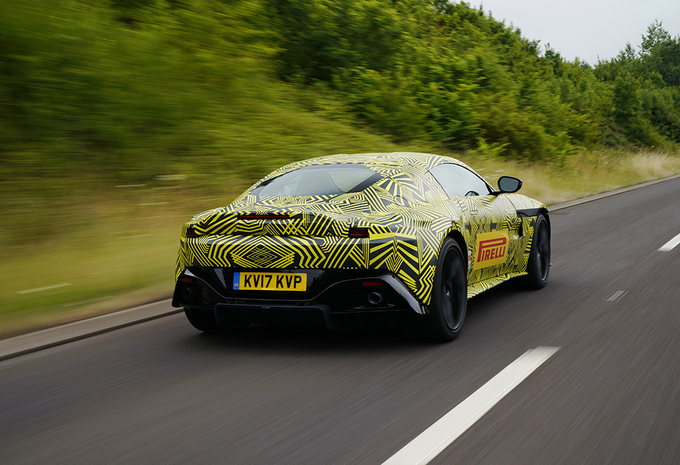Opvolger Aston Martin Vantage V8 is bijna klaar #2
