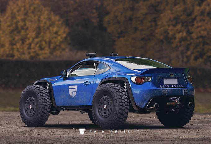 Subaru naar Dakar met Monster-BRZ? #1