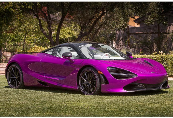 Un client de McLaren a osé peindre sa 720S en rose fuchsia