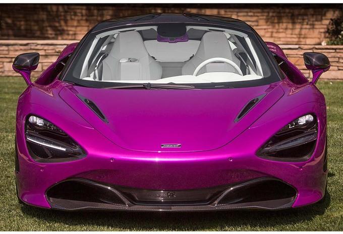 McLaren 720S MSO : Du fuchsia pour Pebble Beach 2017
