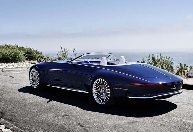 prototype pebble beach 2017 mercedes maybach 6 cabriolet. Black Bedroom Furniture Sets. Home Design Ideas