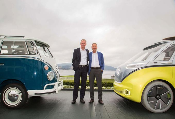 VW Id Buzz >> Officieel: Wolfsburg bevestigt komst elektrisch VW-busje ...