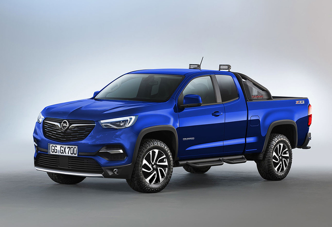 Opel Colorado Pick Up Truck Autowereld