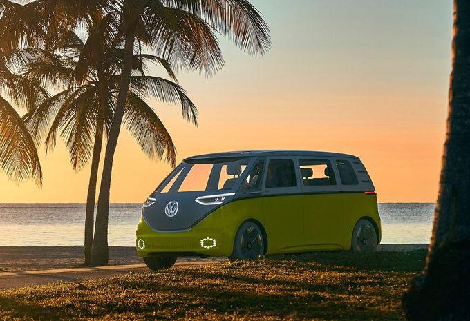 Le combi électrique ID Buzz lancé d'ici 2022 — Volkswagen