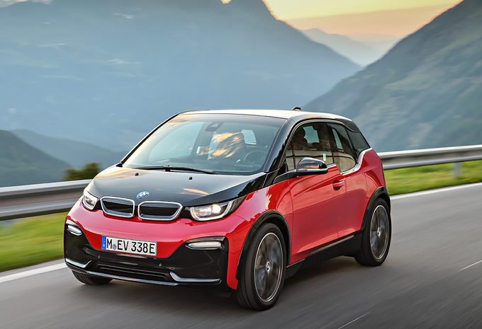 photos bmw i3 2018 une version sportive moniteur automobile. Black Bedroom Furniture Sets. Home Design Ideas