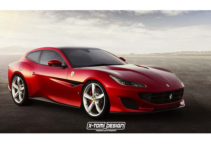 ferrari portofino pourquoi pas en shooting brake moniteur automobile. Black Bedroom Furniture Sets. Home Design Ideas
