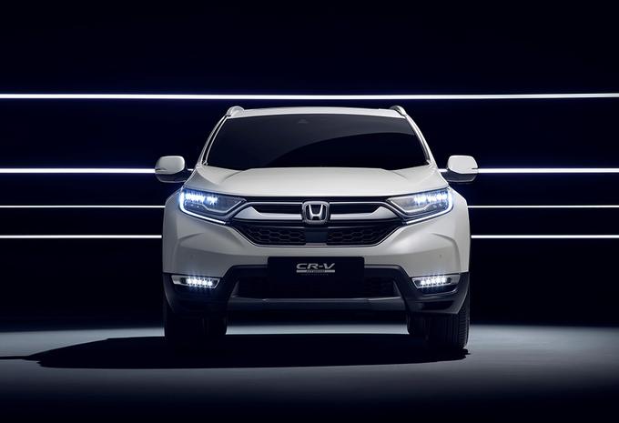 Honda CR-V nu ook als Hybrid #1