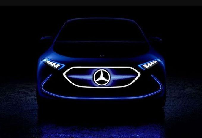 Mercedes-Benz EQ A : un teaser qui met l'eau à la bouche...  #1