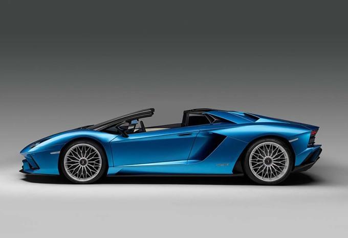 Lamborghini Aventador S Roadster : Existe aussi sans le toit ! #1